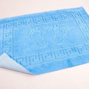 купить Коврик для ванной Lotus - синий (sv-15479)