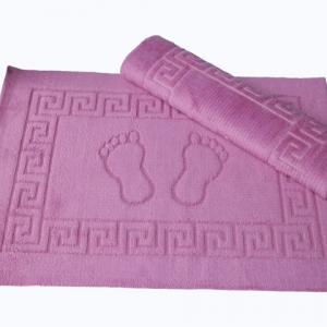 Коврик для ванной Lotus – темно-розовый 50×70
