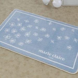 купить Коврик для ванной Marie Claire - Breeze mavi голубой (sv-8698854024093)
