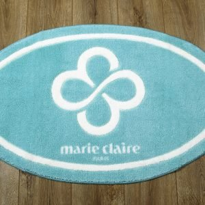 Коврик для ванной Marie Claire – Sally аква овал 66×107