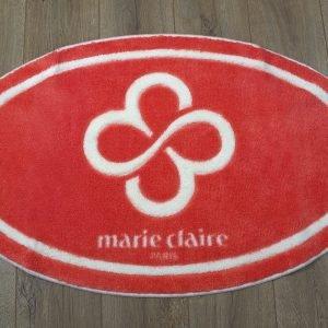 Коврик для ванной Marie Claire – Sally коралловый овал 66×107