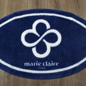 купить Коврик для ванной Marie Claire - Sally темно синий овал (sv-2000008471251)