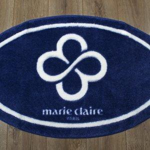 Коврик для ванной Marie Claire — Sally темно синий овал 66×107