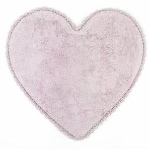 Коврик Irya – Amor lila лиловый 80×80
