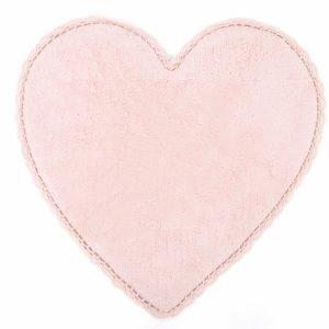 Коврик Irya – Amor pembe розовый 80×80