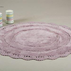 Коврик Irya — Anna mor сиреневый 100 см. диаметр
