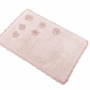 Коврик Irya – Blossom pembe розовый 70×110