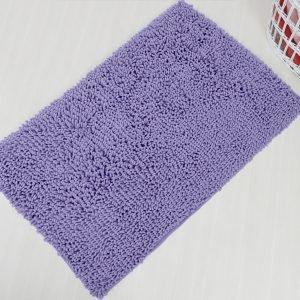 Коврик Irya – Drop lila лиловый 70×120