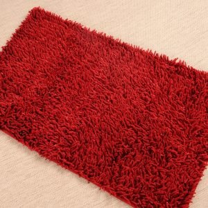 Коврик Irya – Intence micro kirmizi красный 70×120