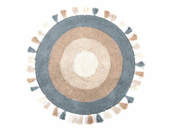 Коврик Irya – Laura bej бежевый 90 см. диаметр