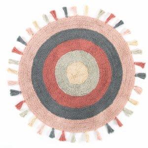 Коврик Irya — Laura pembe розовый 90 см. диаметр