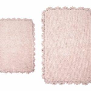 Коврик Irya – Serra pembe розовый 70×110
