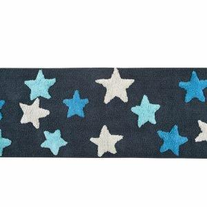 Коврик Irya – Star mavi голубой