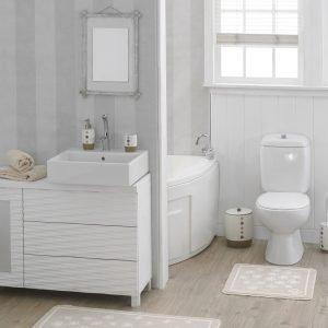 Набор ковриков для ванной Marie Claire – Brezze bej 57×57|57×100