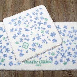 Набор ковриков для ванной Marie Claire – Delight mavi 57×57|57×100