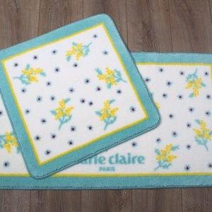 Набор ковриков для ванной Marie Claire – Nelly aqua 57×57|57×100