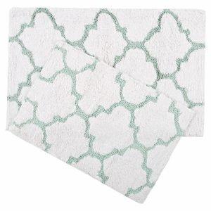 Набор ковриков Irya – Bali aqua 50×80|45×60