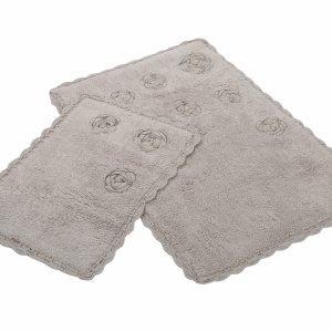 Набор ковриков Irya – Blossom bej бежевый 60×90|40×60