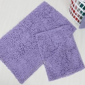 Набор ковриков Irya — Drop lila лиловый 60×100|45×60