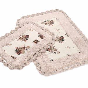 Набор ковриков Irya – Essa pembe розовый