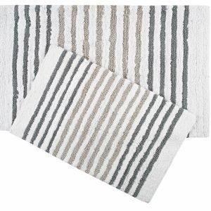 Набор ковриков Irya — Grenada gri серый 55×80|70×115