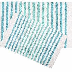 Набор ковриков Irya — Grenada mavi голубой 55×80|70×115