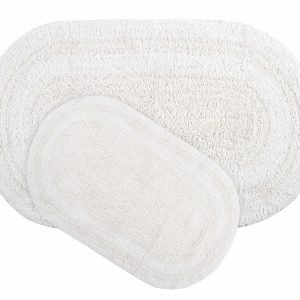 Набор ковриков Irya – Havana beyaz белый