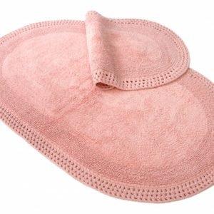 Набор ковриков Irya – Laverne rose розовый 60×100|40×60