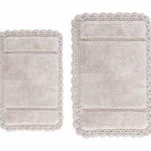 Набор ковриков Irya — Lorinda bej бежевый 60×90|40×60