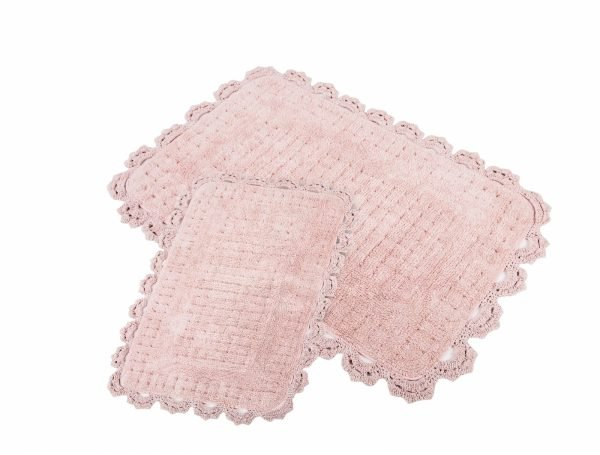 купить Набор ковриков Irya - Mina pembe розовый (sv-11913983032795)