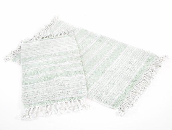 Набор ковриков Irya – Relax yesil зеленый 60×90|40×60