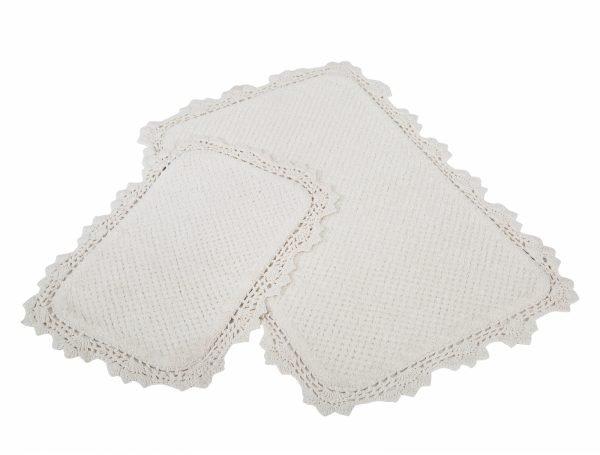 купить Набор ковриков Irya - Serra ekru кремовый (sv-11913986870895)
