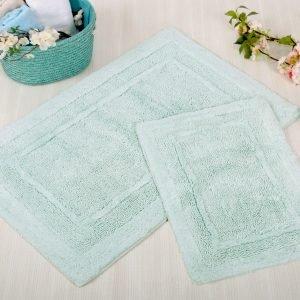 Набор ковриков Irya – Superior aqua аква 60×90|40×60