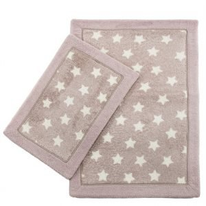 Набор ковриков Lux Suffy Yildizli G.Kurusu 40×60|60×90