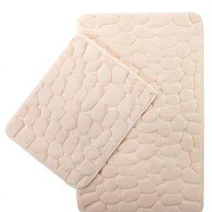 Набор ковриков Samos Krem Tas 40×50|50×80