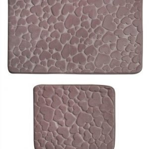 Набор ковриков Samos Pudra Kalp 50×60|60×100