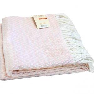 Плед Vladi Валенсия-Антонио розовый 140×200