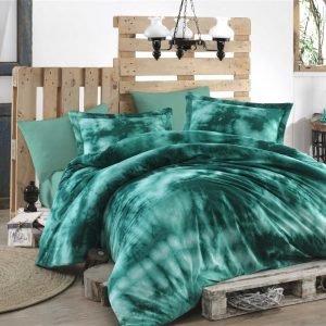 Постельное белье Hobby Batik Gizem зеленый 200×220