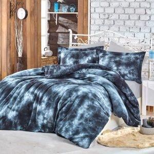 Постельное белье Hobby Batik Gizem синий 200×220