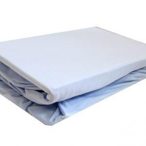 купить Простынь на резинке голубая (IZ-2200000546470-v)
