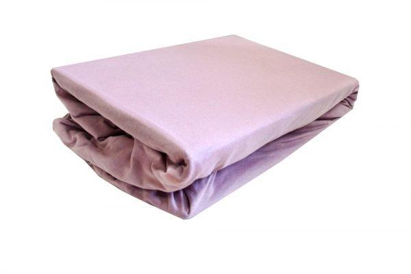 купить Простынь на резинке фиолетовая 2 (IZ-2200000546494-v)