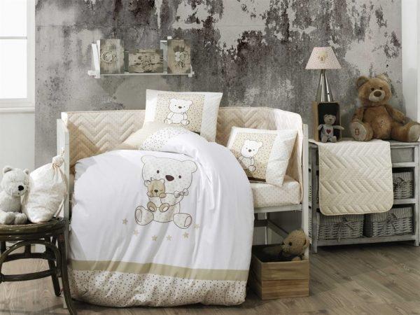 купить Детское постельное белье ТМ Hobby Bonita beg (IZ-8698499141360)
