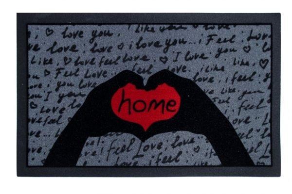 Коврик в прихожую Italyan Format I Feel Love 40×68