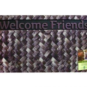 Коврик в прихожую Mozaik Welcome Friends 45×75