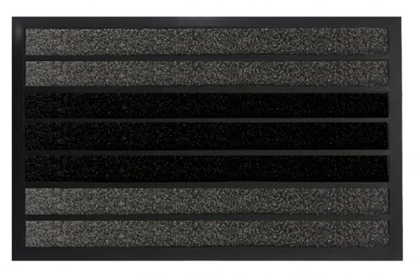 Коврик в прихожую Torino Gri Siyah 45×75