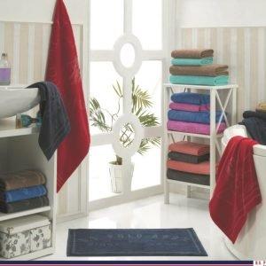 купить Набор 4 полотенца и коврик U.S.Polo Assn - Bradenton blue (7029)