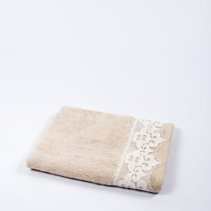 Полотенце бамбуковое Maxstyle – Damask beg 50×90
