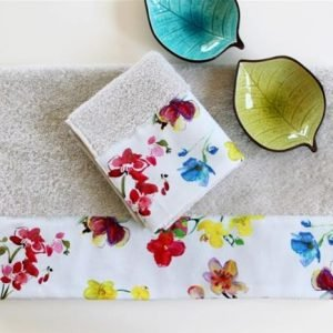 купить Полотенце махровое Barine - Flower Breeze (7847)