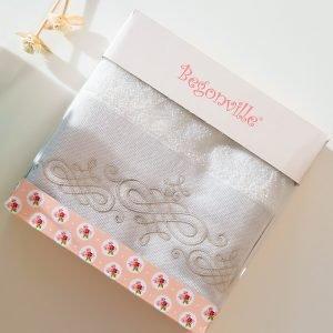 Полотенце махровое Begonville – Ruby 14 ekru 50×90
