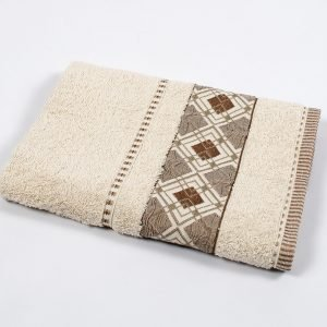 купить Полотенце махровое Binnur - Vip Cotton 07 beg (sv-svt-2000022205108-v)